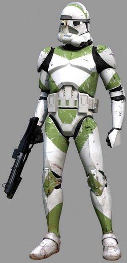 Ein Trooper des 7. Sky Corps.