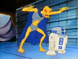 Gaff und R2-D2