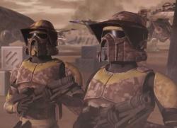 Zwei ARF-Trooper auf Geonosis.