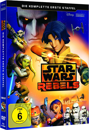 Star Wars Rebels - Die komplette 1. Staffel auf DVD / dt. Version