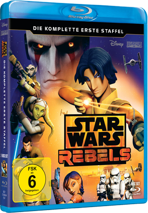 Star Wars Rebels - Die komplette 1. Staffel auf Blu-ray / dt. Version