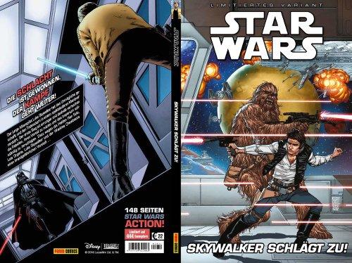 Skywalker schlägt zu! - Varianten Cover