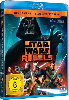 Star Wars Rebels Staffel 2 - Blu-ray-Cover