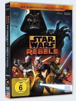 Star Wars Rebels Staffel 2 - DVD-Cover