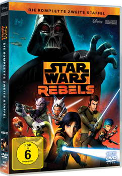 Star Wars Rebels Staffel 2 - DVD-Cover