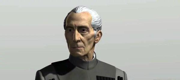 Tarkin in Rogue One: Das CG-Modell im Test