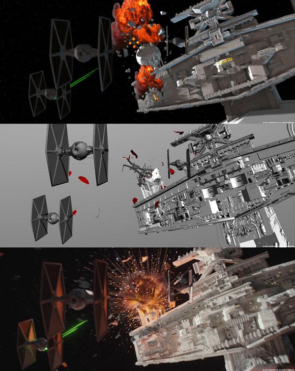 Rogue One: Visuelle Effekte - Die Raumschlacht