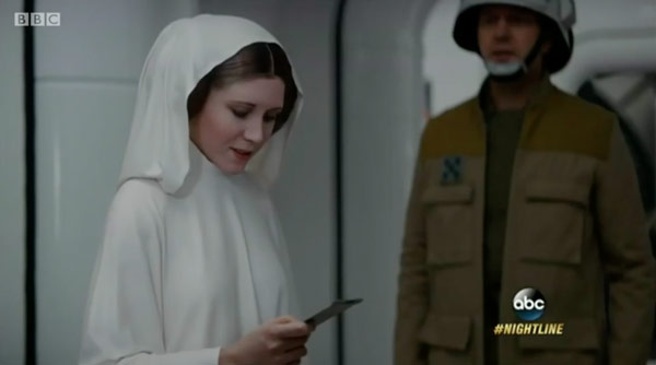 Nur der Anfang? Leia digital verjüngt in Rogue One: A Star Wars Story