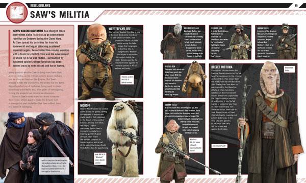 Rogue One: Die illustrierte Enzyklopädie über Weeteef und weitere Mitstreiter Saw Gerreras