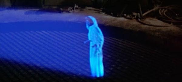 Rogue One: Wiederverwendung von Leias Hologrammnachricht aus Star Wars: Episode IV - Eine neue Hoffnung