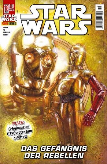 Der deutsche Band <i>Star Wars #18</i>