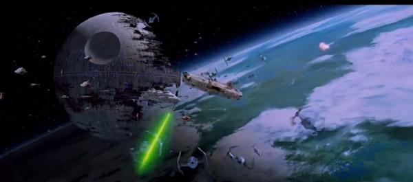 Die Schlacht von Endor in Die Rückkehr der Jedi-Ritter