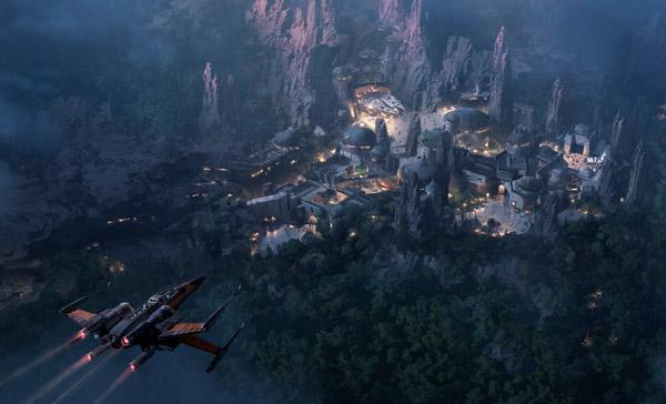 Star-Wars-Land: Konzept