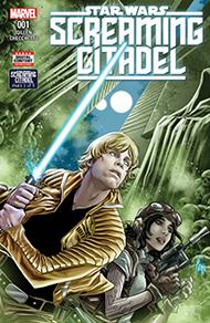 Cover für The screaming citadel