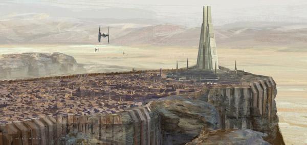 Rogue One: Das Design für die Stadt Jedha nimmt Gestalt an