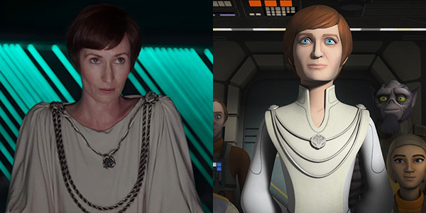 Mon Mothma in Star Wars Rebels