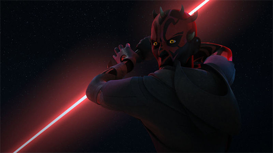 Maul in Twin Suns