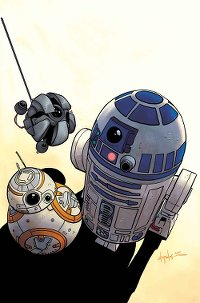 Droids Unplugged #1 - Cover