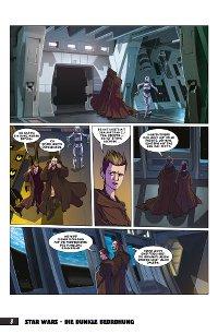 Die dunkle Bedrohung - Vorschau Seite 2