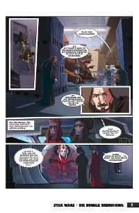 Die dunkle Bedrohung - Vorschau Seite 5