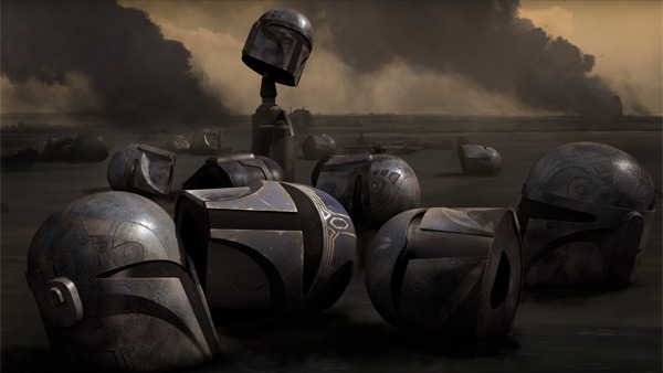 Konzeptzeichnung aus Staffel 4 von Star Wars Rebels
