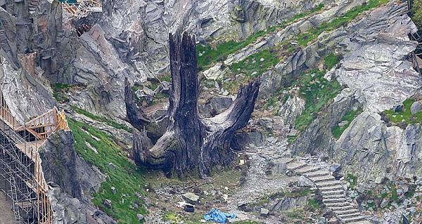 Jedi-Baum, Skellig-Set Pinewood