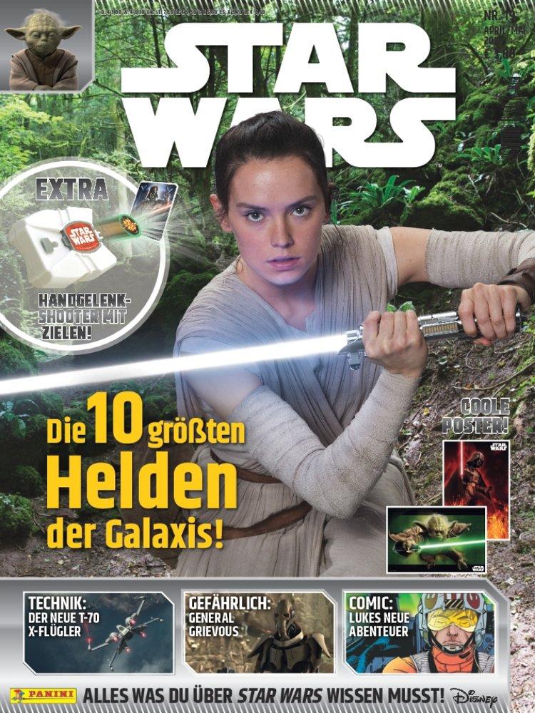 Star wars magazin 19 erschienen mit einem exklusiven for Nachrichten magazin