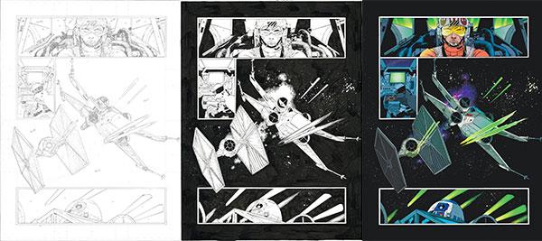Von der Skizze zum Comic