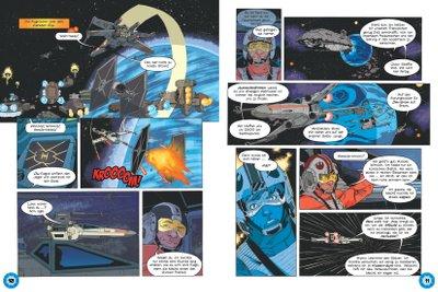 Star Wars Magazin #19 - Comic Vorschau Seite 2-3