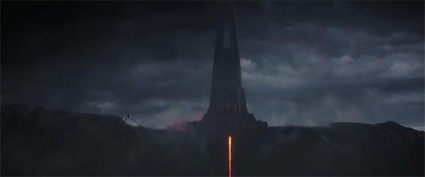 Darth Vaders Schloss auf Mustafar