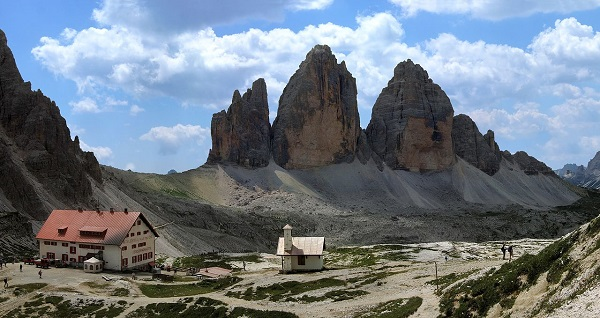 Die Drei Zinnen in Italien