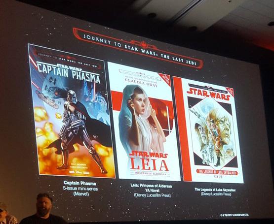 Drei weitere Veröffentlichungen aus Journey to Star Wars: The last Jedi