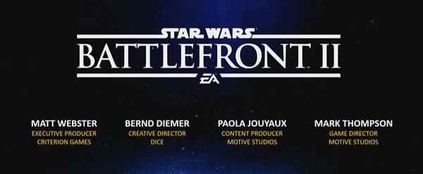 Star Wars Battlefront 2 - Die Macher von EA