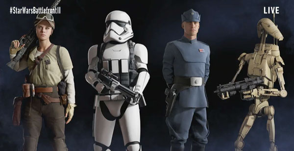 Star Wars Battlefront 2 - Figuren aus allen Epochen