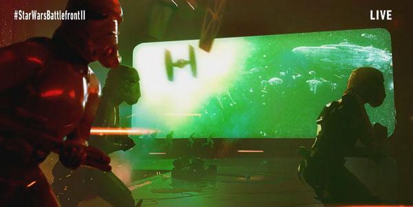 Star Wars Battlefront 2 - Kämpfe im Hangar