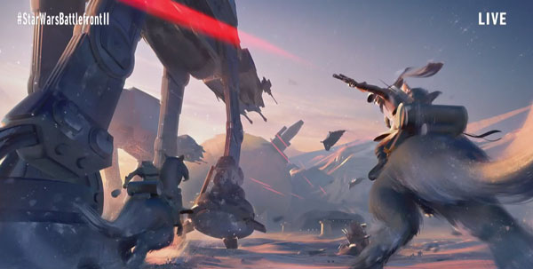 Star Wars Battlefront 2 - Hoth