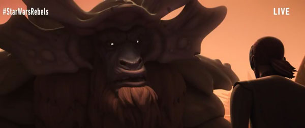 Star Wars Rebels: Season 4 - Kanan und der Bendu