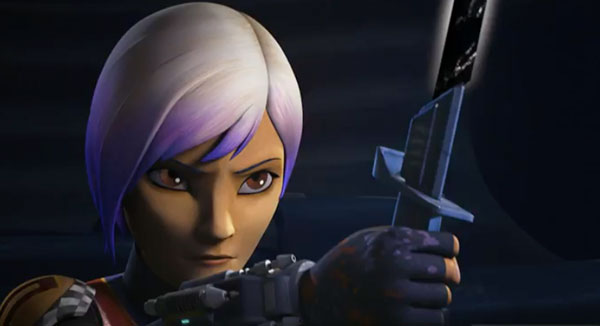 Star Wars Rebels: Season 4 - Sabine und das Darksaber