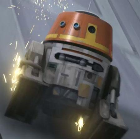Star Wars Rebels: Season 4 - Chopper