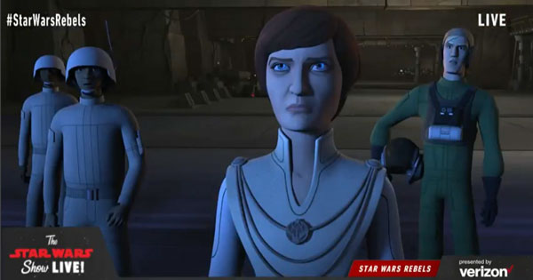Star Wars Rebels: Season 4 - Mon Mothma