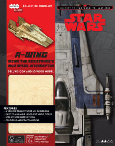 Cover zu IncrediBuilds: A-Wing – Deluxe Book and Model Set