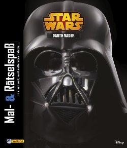 Mal- und Rätselspaß Darth Vader - Cover