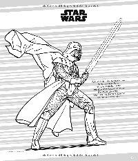 Mal- und Rätselspaß Darth Vader - Vorschau Seite 1