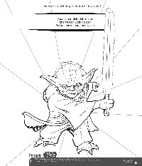 Mal- und Rätselspaß Darth Vader - Vorschau Seite 3