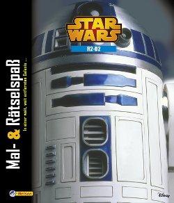 Mal- und Rätselspaß R2-D2 - Cover
