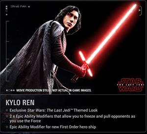 Kylo Ren aus Die letzten Jedi