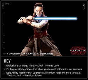 Rey aus Die letzten Jedi