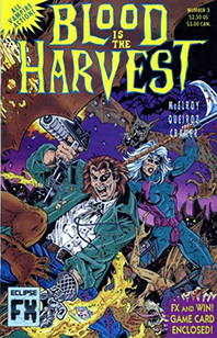 Blood is the Harvest Cover