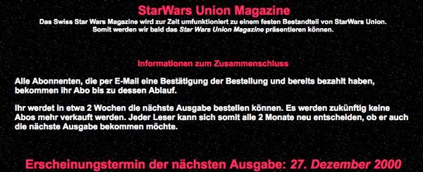 SWU-Magazin? Was? Echt jetzt? Okay...
