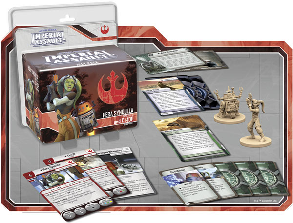 Imperial Assault: Hera Syndulla und C1-10P